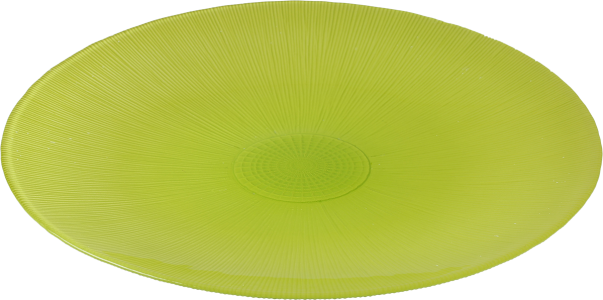 Assiette Color 34 cm pistache