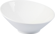 Coupelle inclinée 14 cm porcelaine