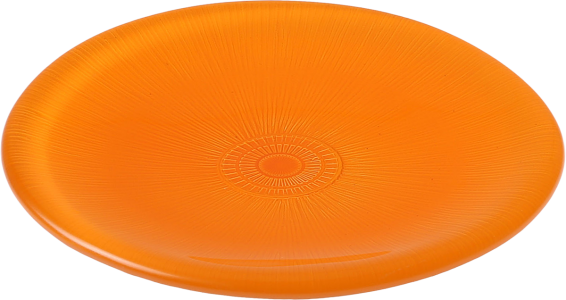 Assiette Color 13 cm orange