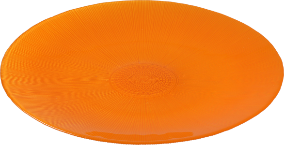 Assiette Color 34 cm orange